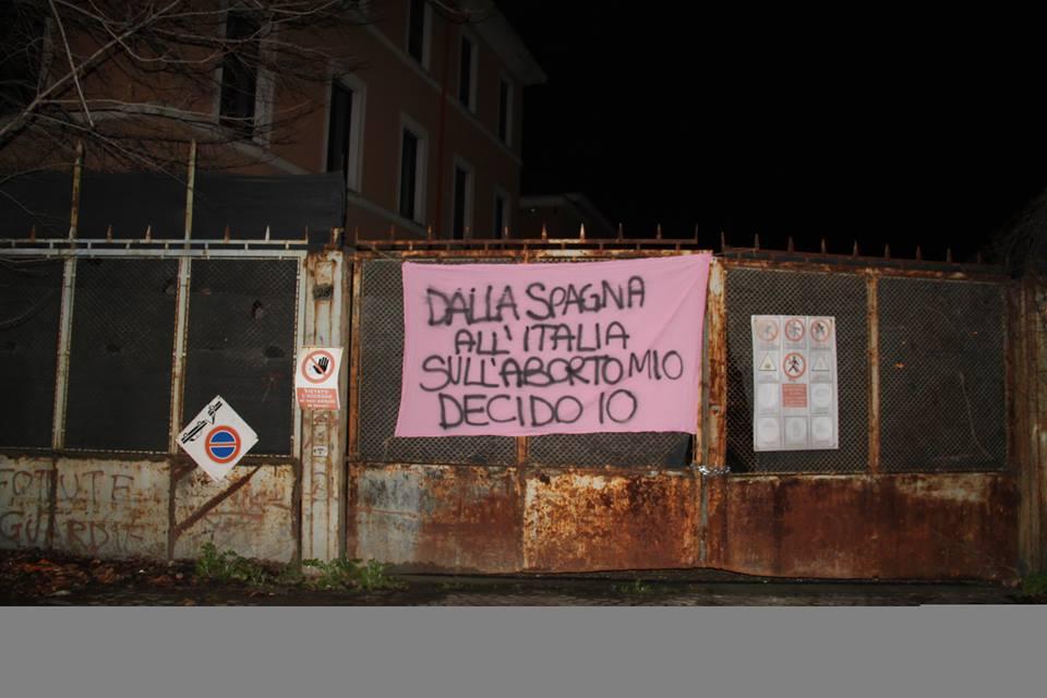 8 febbraio 2014: Dalla Spagna all'Italia: sull'aborto mio decido io!