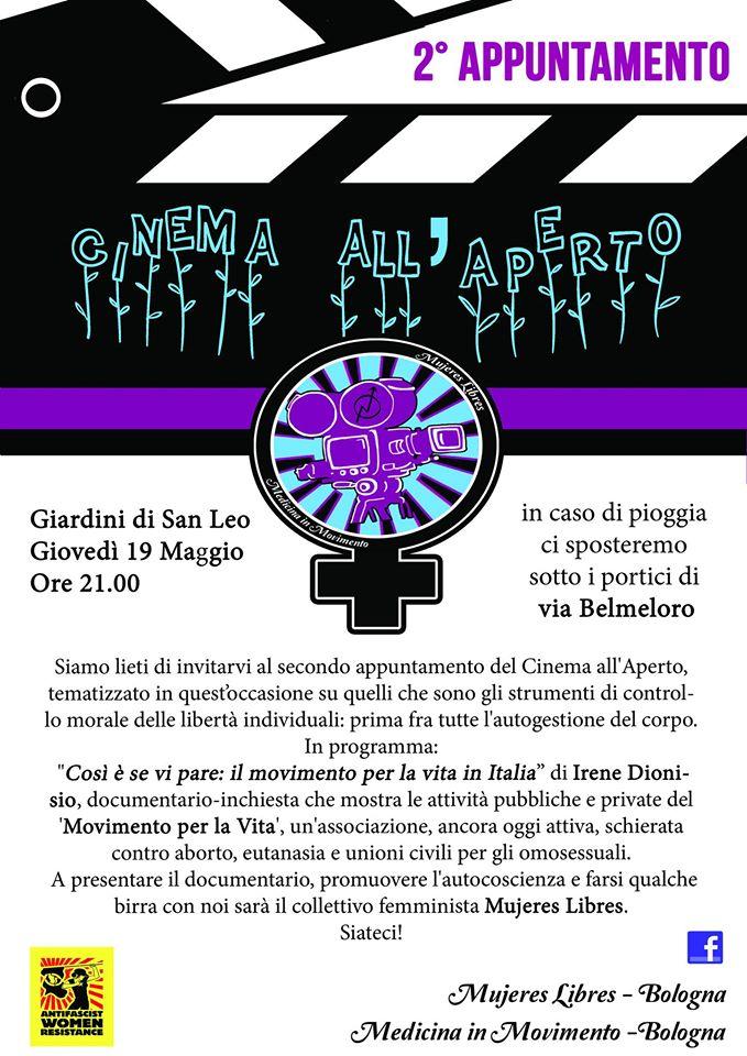 Volantino Cineforum Medicina in Movimento